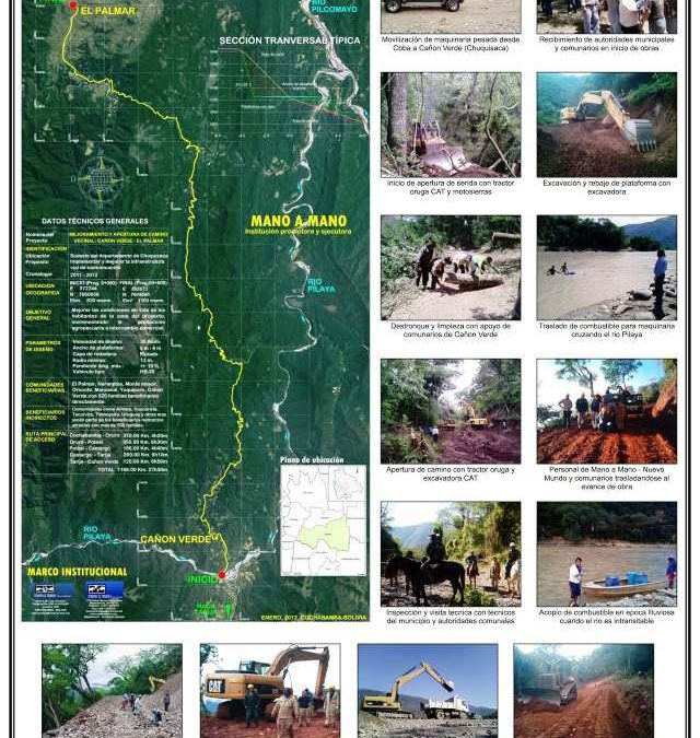 El Palmar Road Project Banner