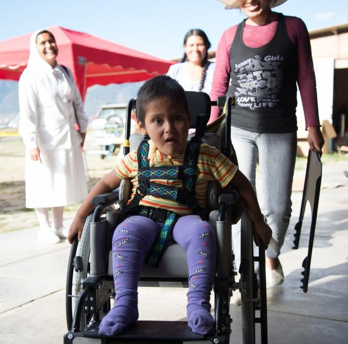 Distributing Nearly 200 Wheelchairs in Bolivia