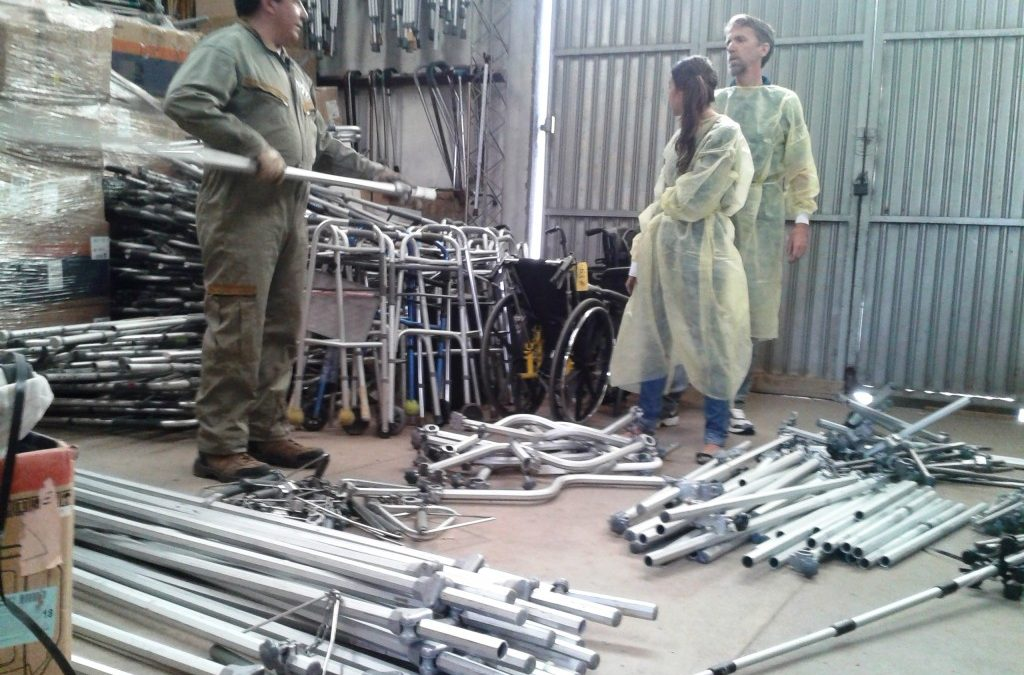 Putting Donated Traction Equipment to Use in Bolivia