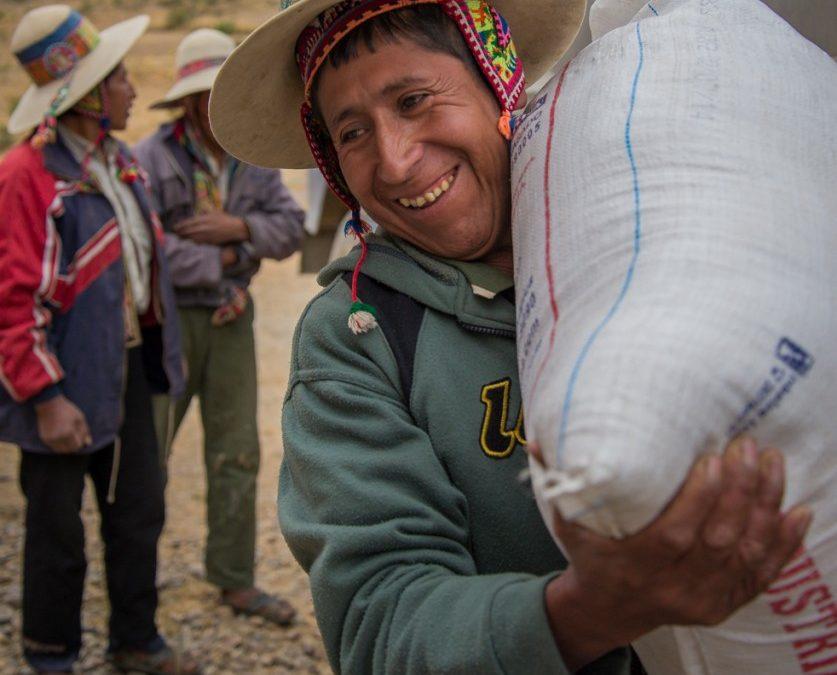 Distributing Food and Supplies in Jironkota