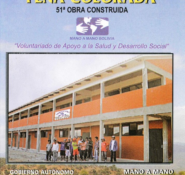 Pena Colorada School is Complete