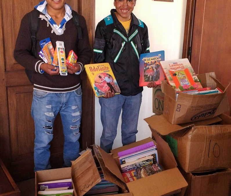 Donating School Supplies in Bombeo, Bolivia