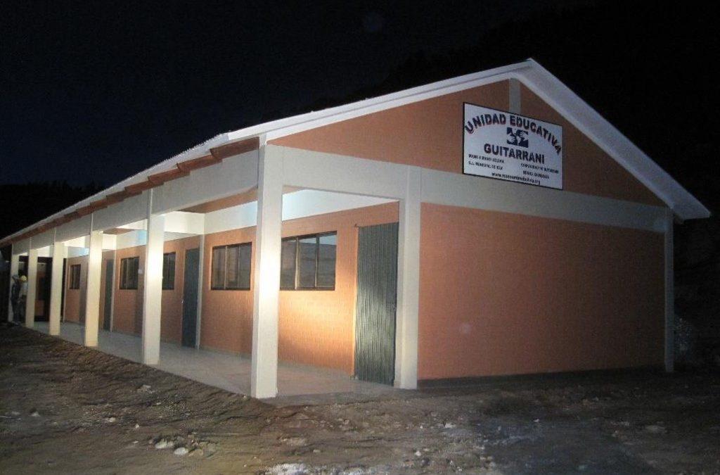 New School Almost Complete in Guitarrani, Bolivia