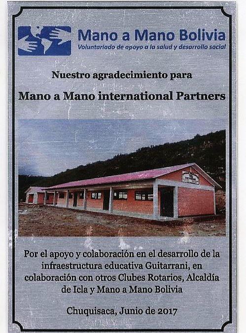 Guitarrani School Plaque