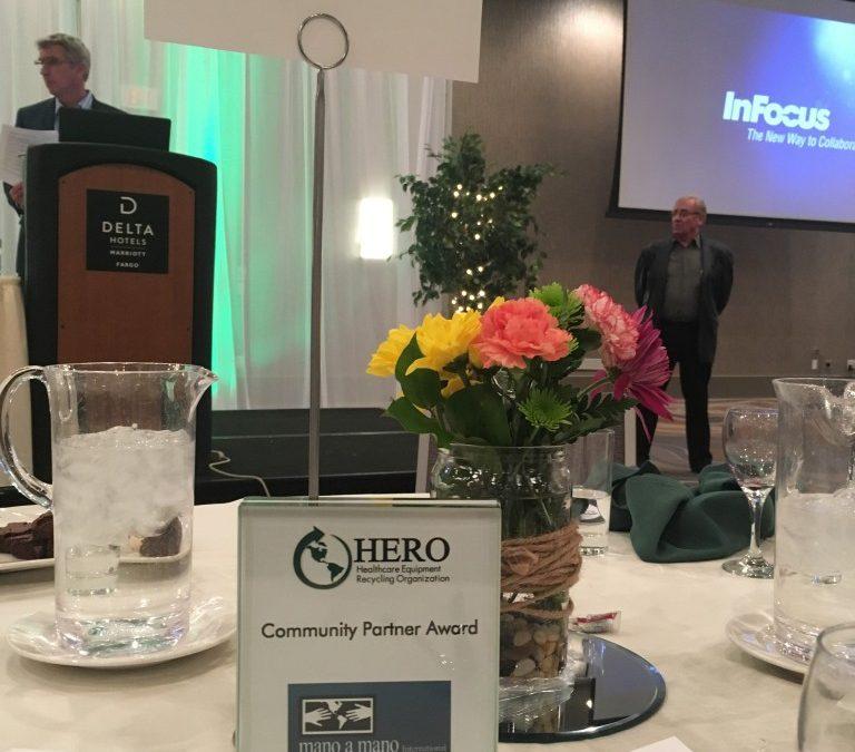 Thank You HERO Fargo for the Community Partner Award!