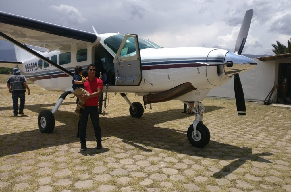 Pictures and Video of New Plane Arriving in Cochabamba
