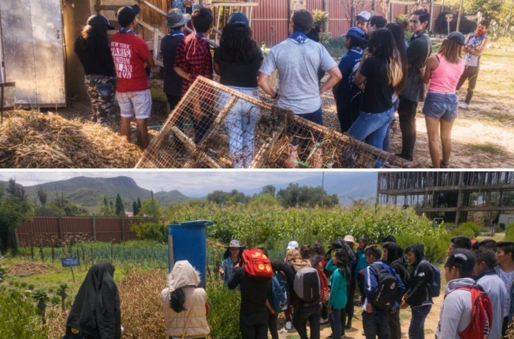 2,711 Visitors to the Center for Ecological Agriculture in 2018