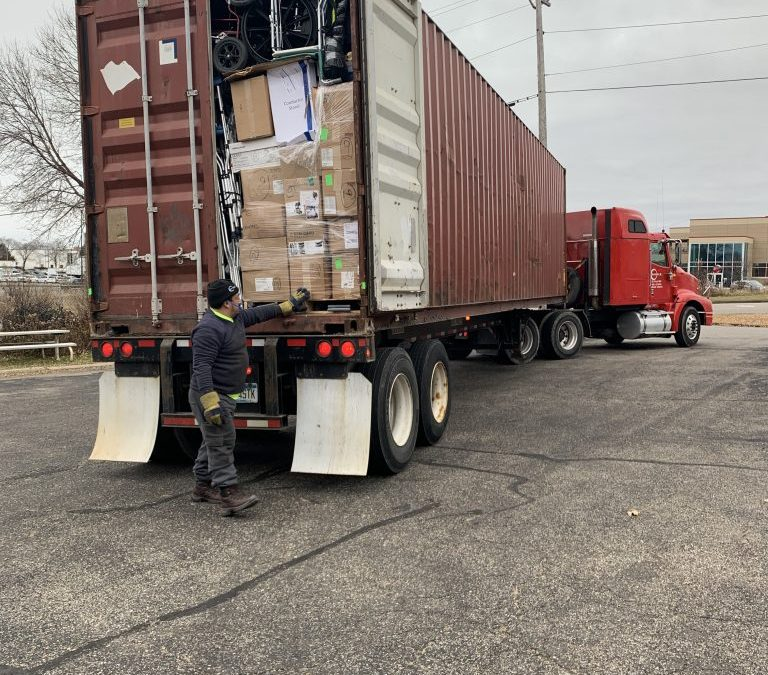 More than 90,000 Pounds En Route to Bolivia