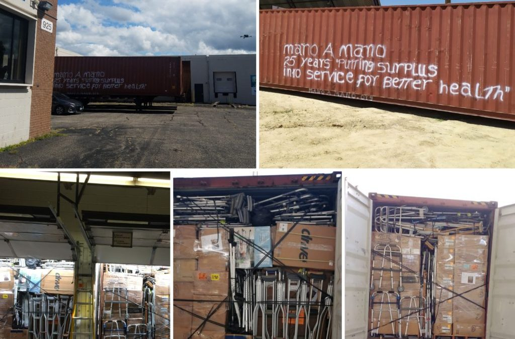 Containers Shipped from St. Paul in August Have Arrived in Cochabamba